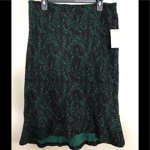 NEW Michael Kors Womens calf length Emerald Skirt